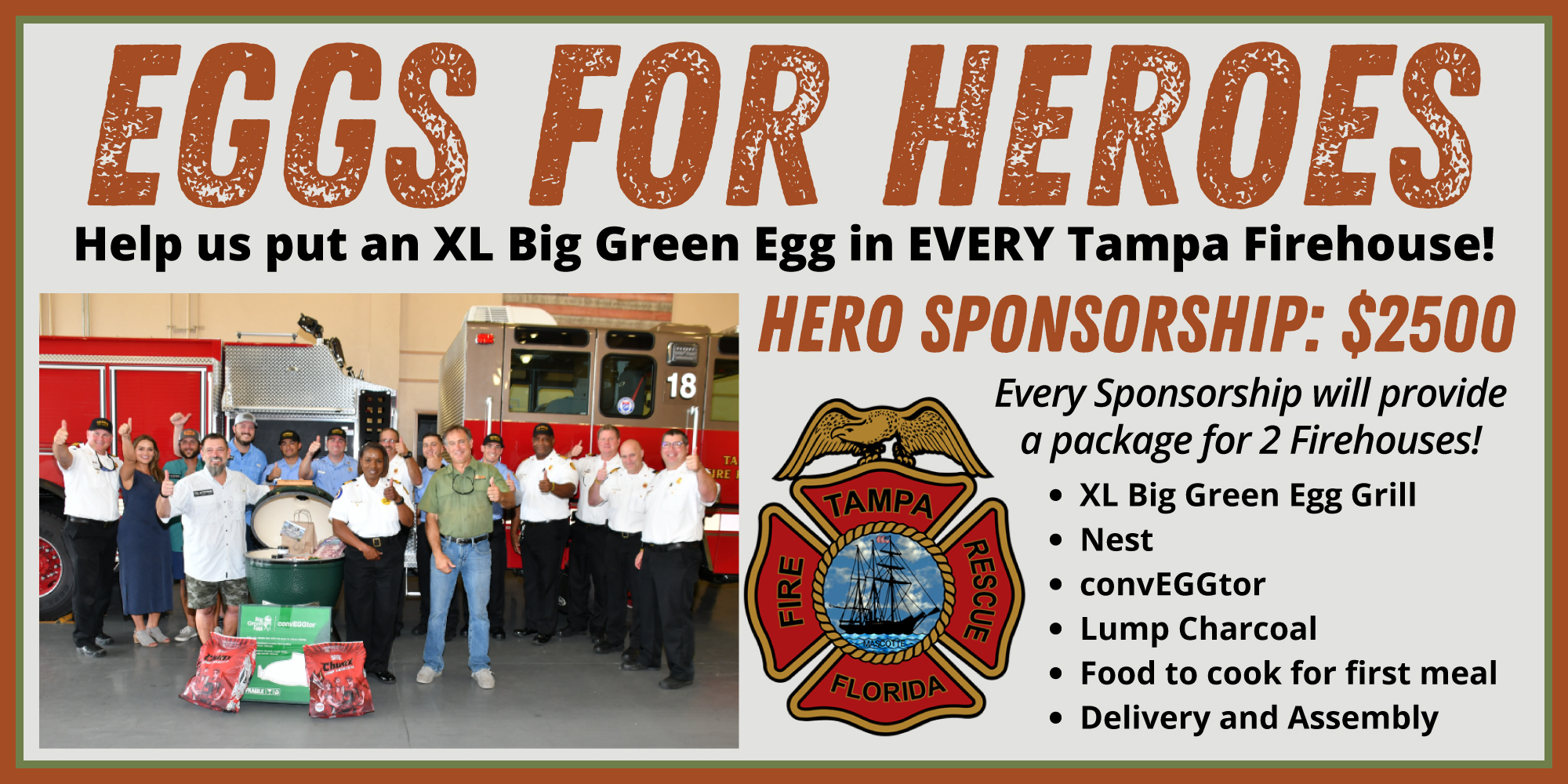 Eggs For Heroes